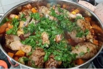 מתכון לתבשיל עוף