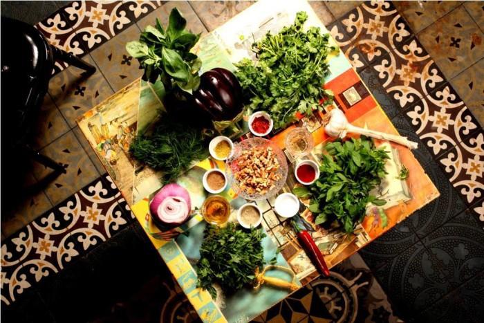 מסעדת ננוצ'קה חוויה טבעונית עשירה