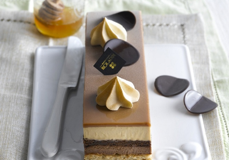 עוגת גנדויה רולדין |צילום :רונן מנגן