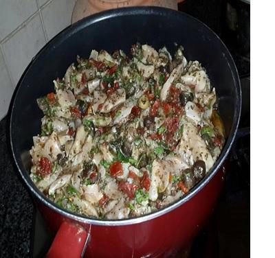 תבשיל חזה עוף