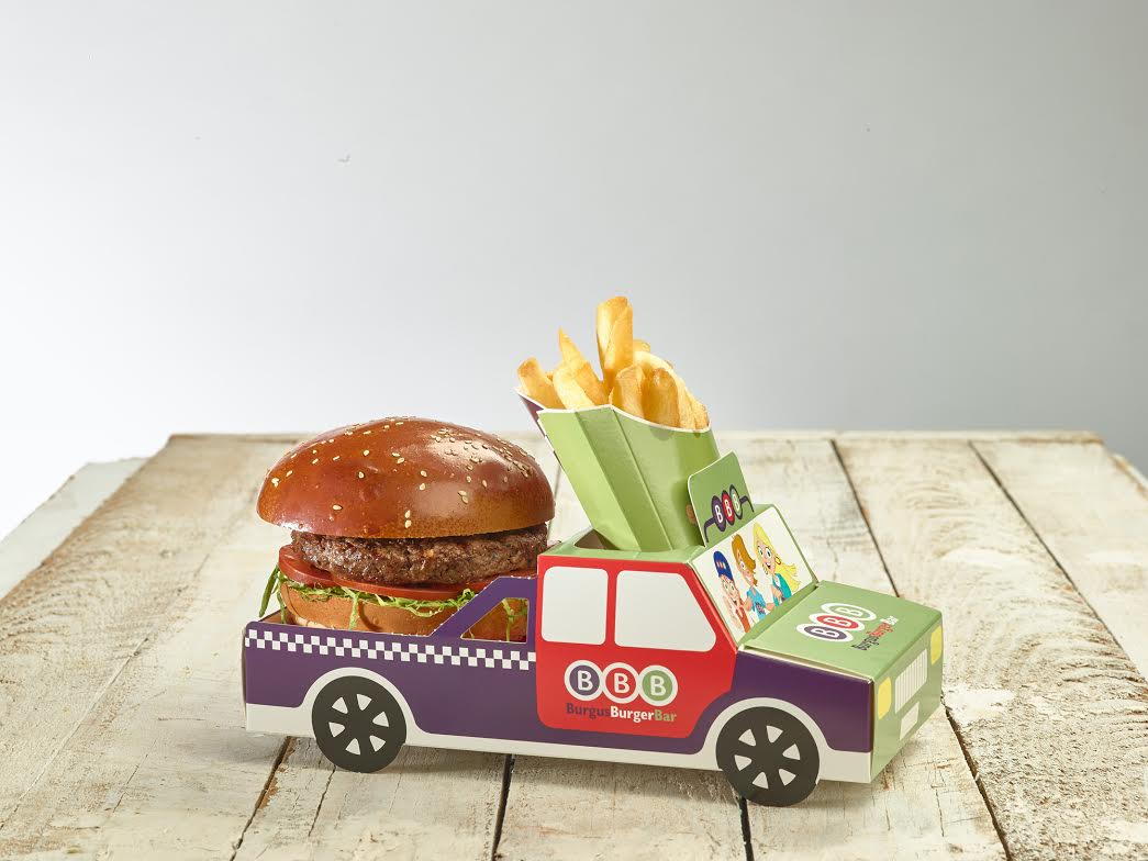 מנות המבורגר ילדים