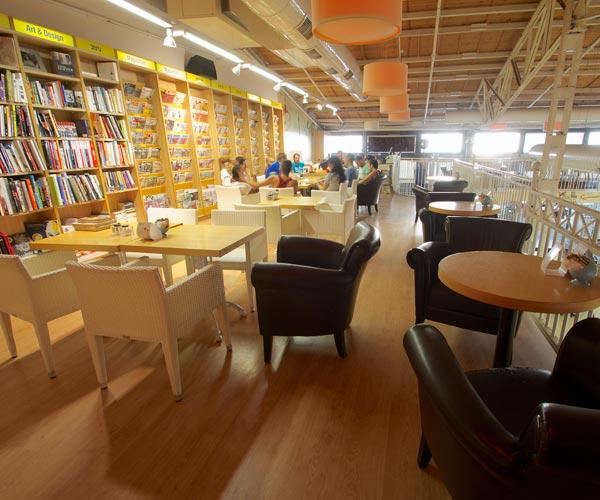 צמוד ל'צומת ספרים' ומאפשר חוויה תרבותית | צילום יחצ