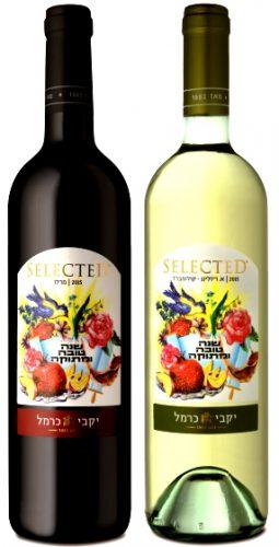 יין כרמל סלקטד אמרד ריזלינג רולומברד מרלו  צילום אייל קורן