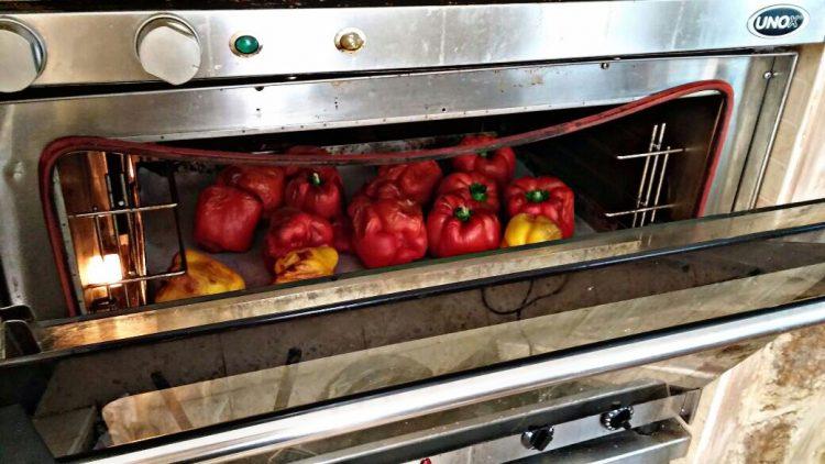 פלפלים בתנור של רותי | צילום לינוי משעלי